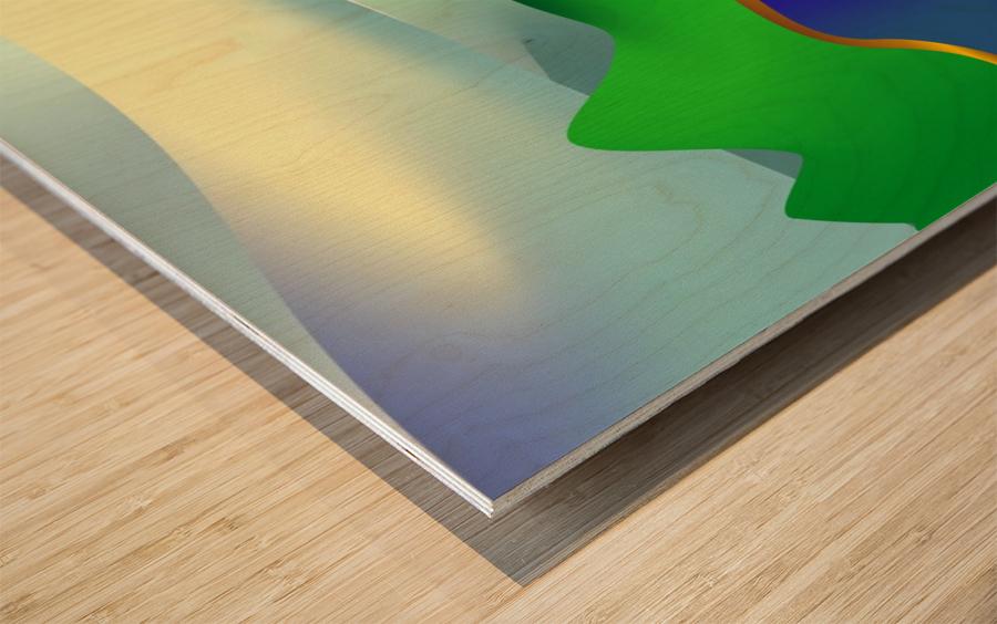 1-Serenity 1 Wood print