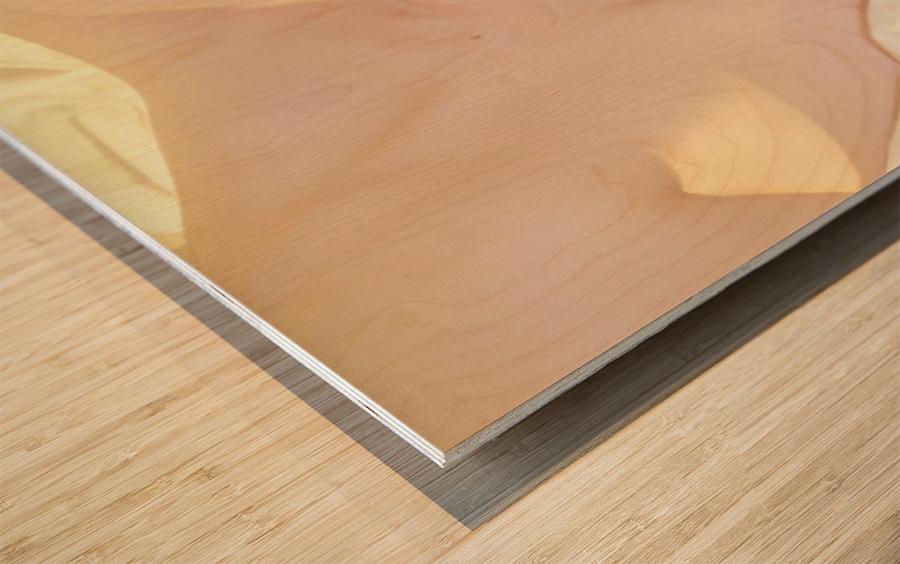 The Natural Wood print