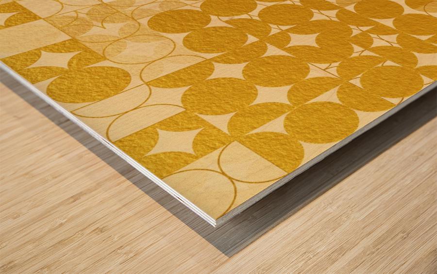 Geometric XIX v2 Wood print