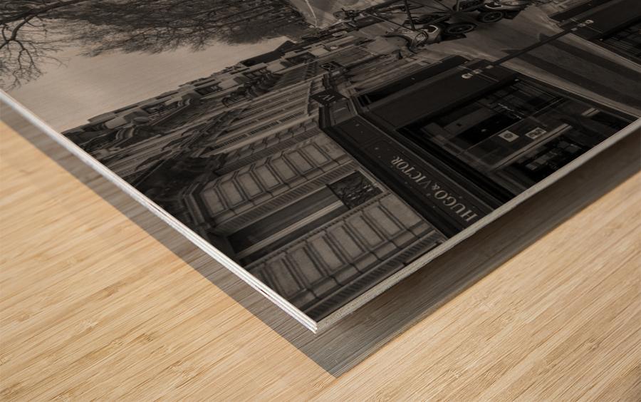 Paris - Street  2018 Wood print