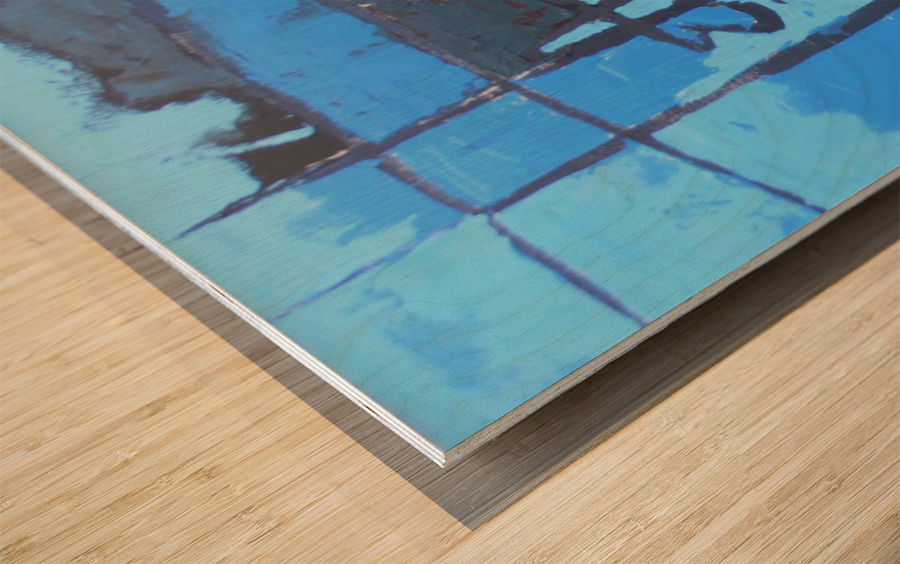 09 Wood print