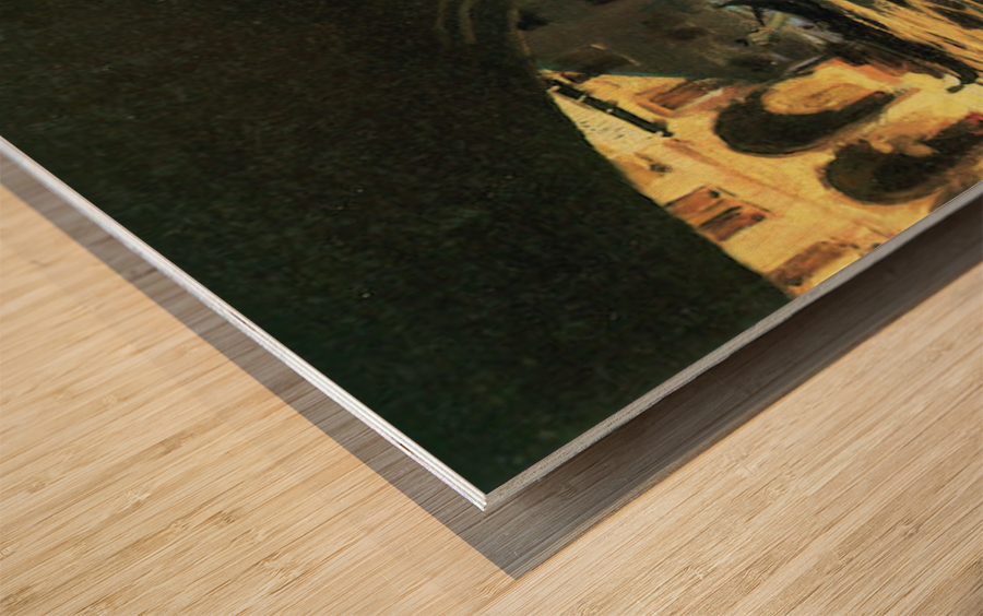 Rialto by John Singer Sargent Wood print