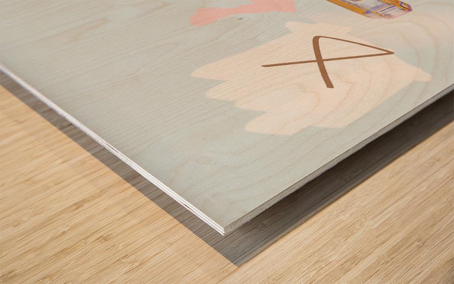 Chanel Wood print