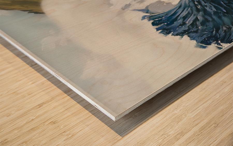 2015 QUIKSILVER - EDDIE AIKAU Big Wave Invitational Surfing Competition Print Wood print