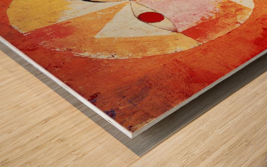Senecio Wood print
