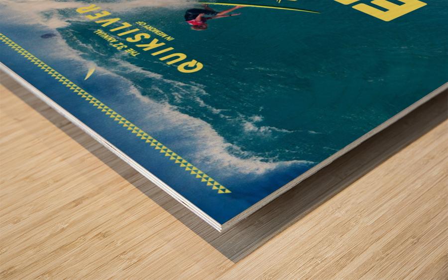 2017 QUIKSILVER - EDDIE AIKAU Big Wave Invitational Surfing Competition Print Wood print