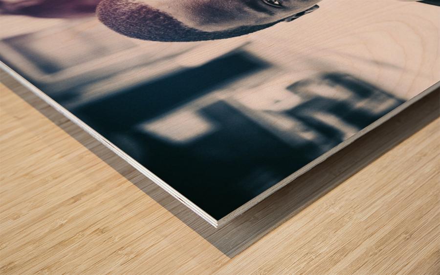 Portraits Wood print