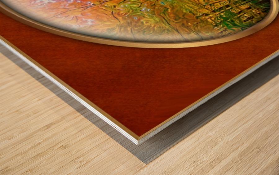 Landscape 15 Wood print