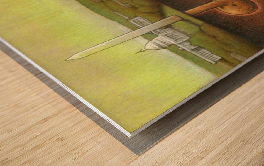 Pawel Kuczynski 25 Wood print