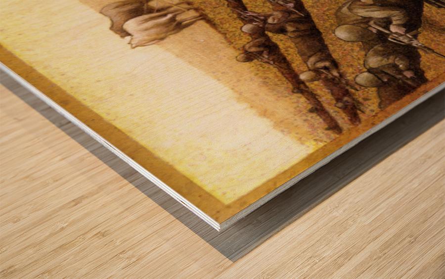 Pawel Kuczynski 26 Wood print