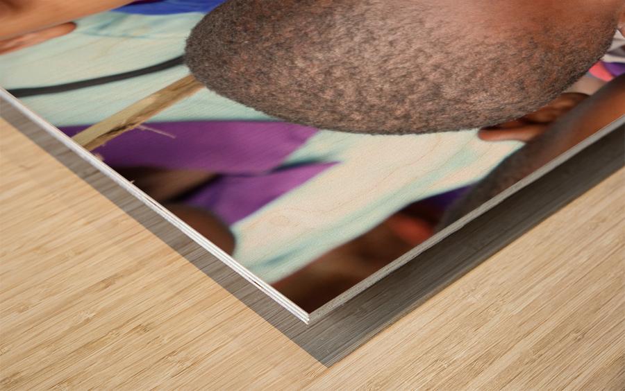 Thumbs Up Wood print
