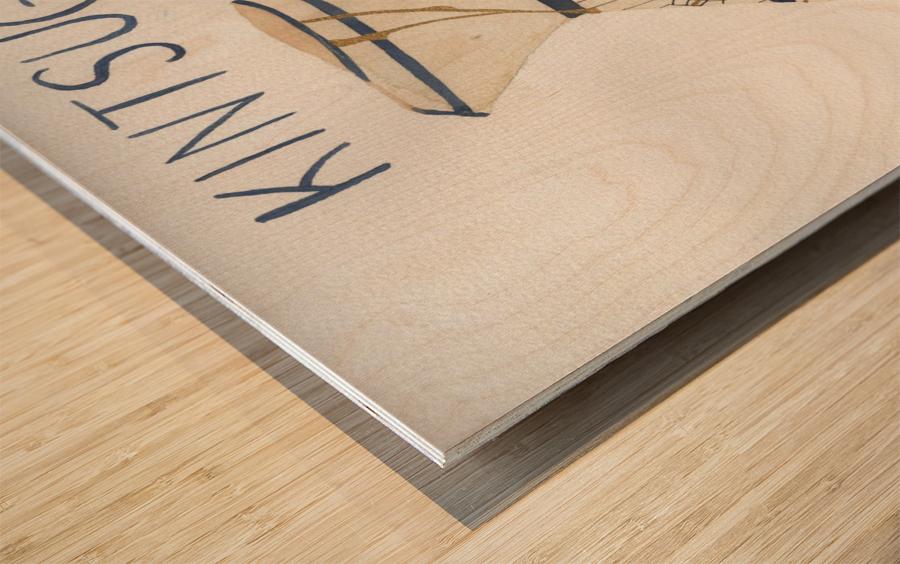 Kintsugi Wood print