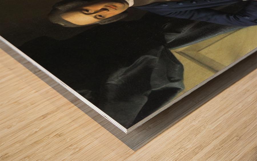Moses Gill Wood print