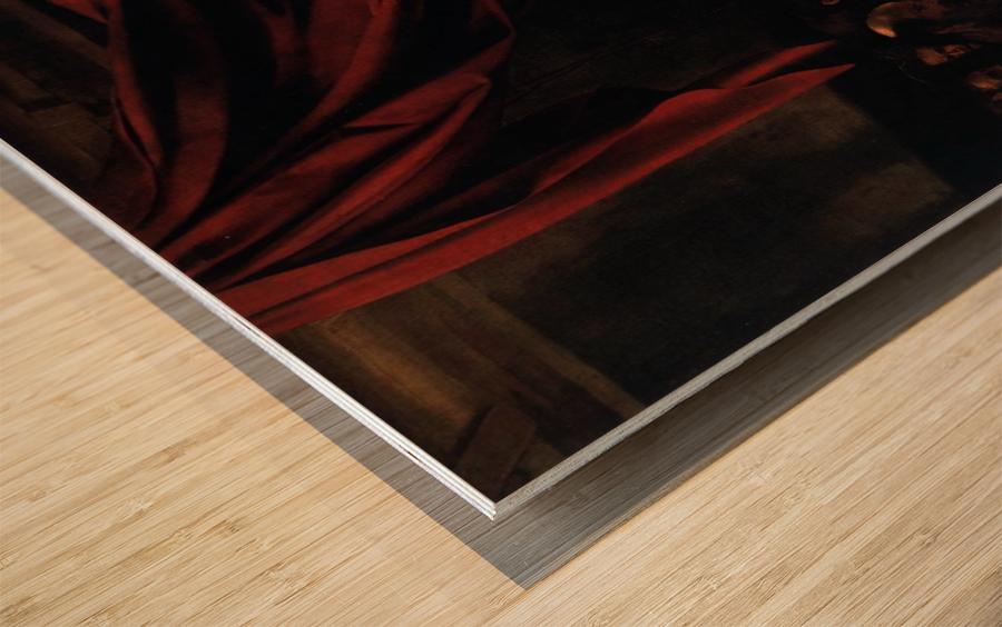 Morte della Vergine Wood print