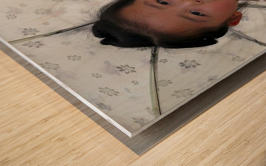 Beijing Princess Wood print
