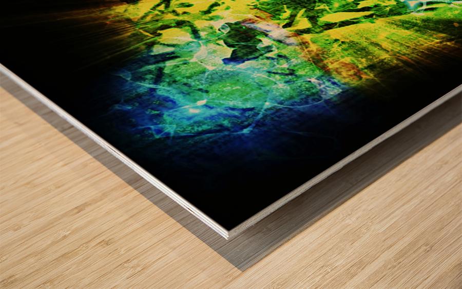 Battle WON Wood print