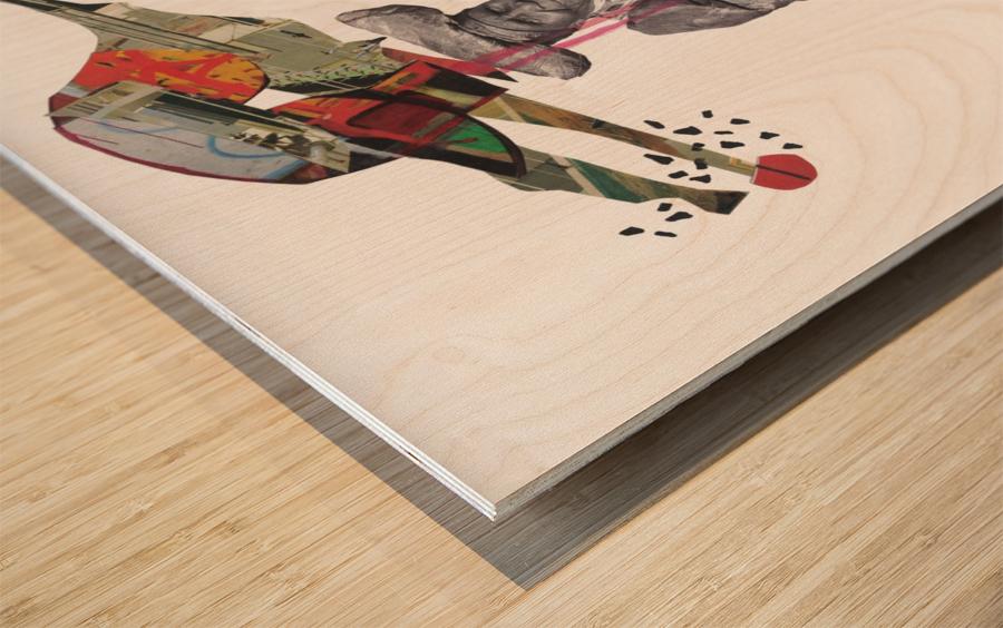 Herero Woman 8 Wood print