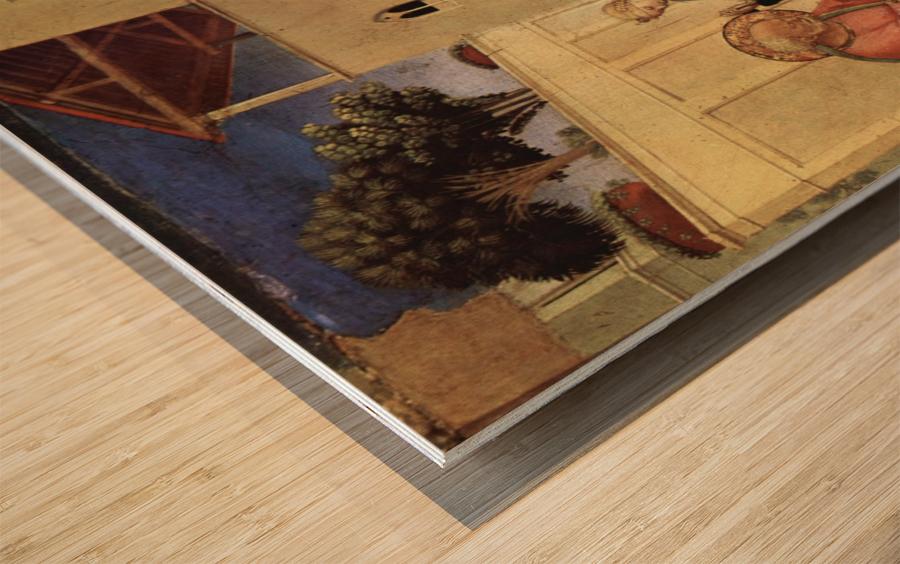 Public teaches Wood print
