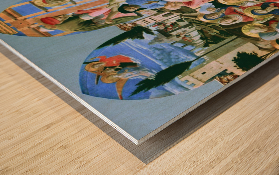 The Deposition from the Cross Wood print