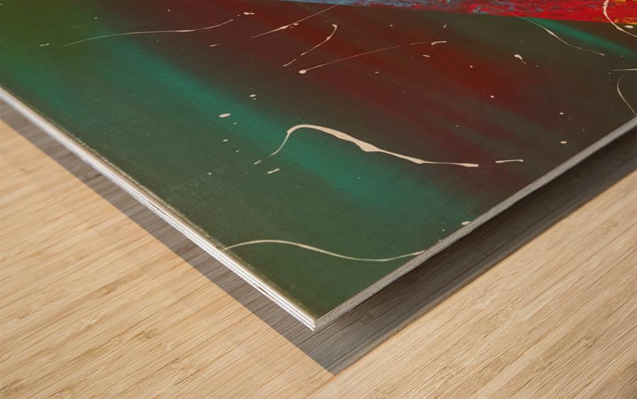 Path à linfini  Wood print