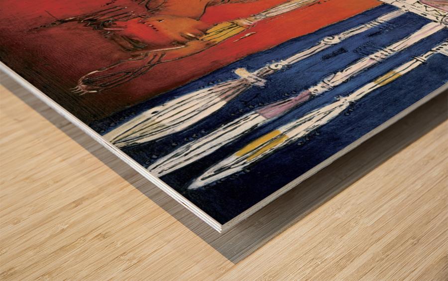 Massai Wood print