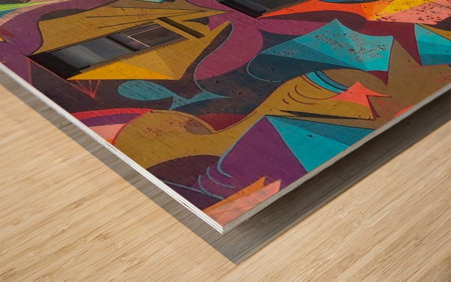New_York_ Wood print