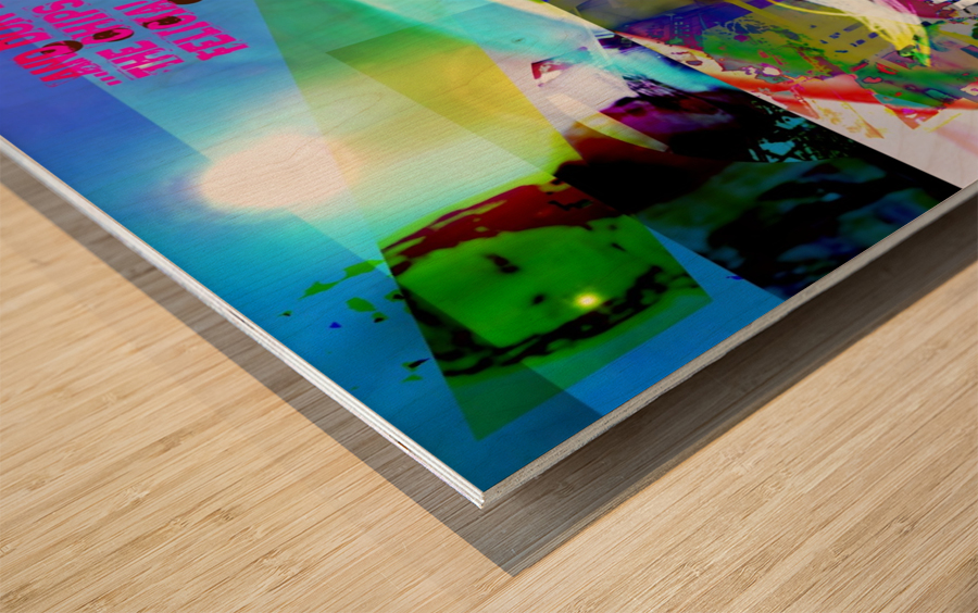 R_PUNKS_SOMEKINDOFMONSTER Wood print