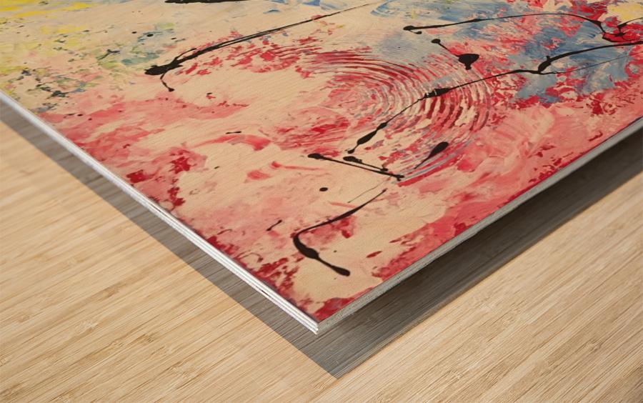 SAISONS Wood print