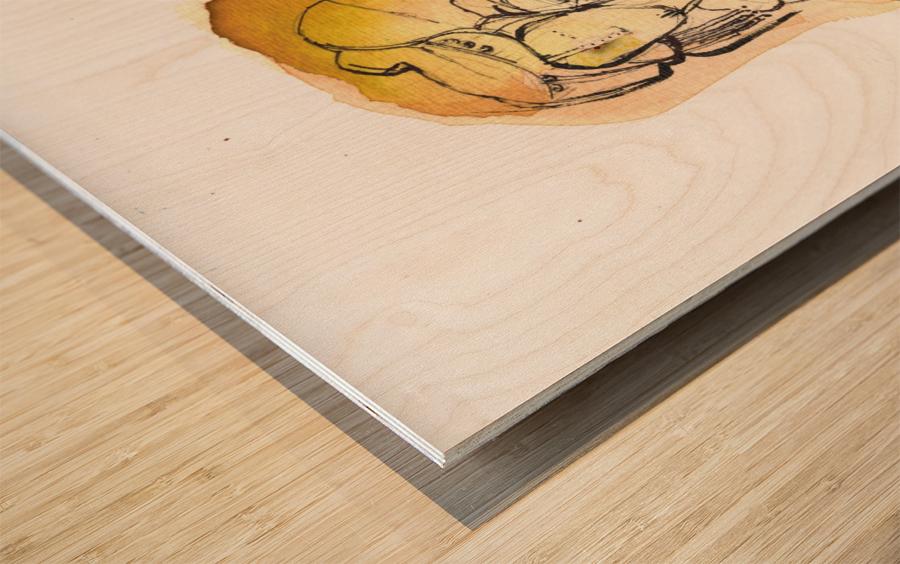 Kreol maghribia_1 Wood print