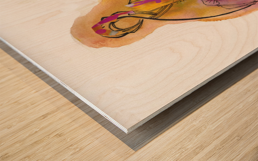 Kreol maghribia_6 Wood print
