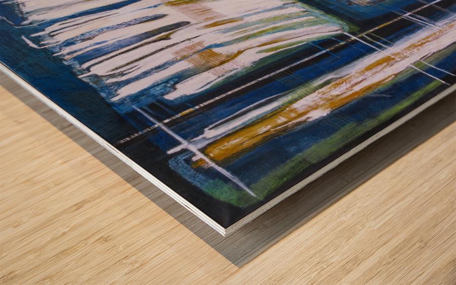 pont_souffrance Wood print