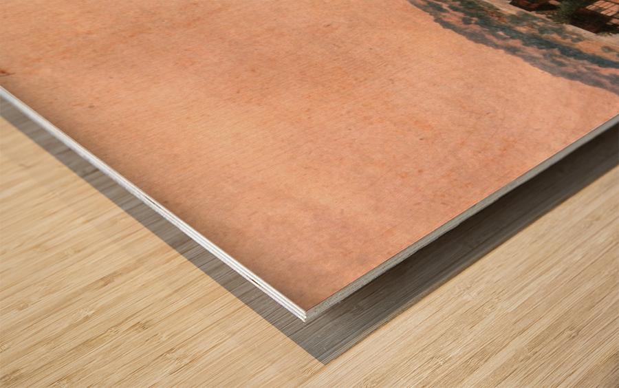 Erlauterung Johanniskirchhof Wood print