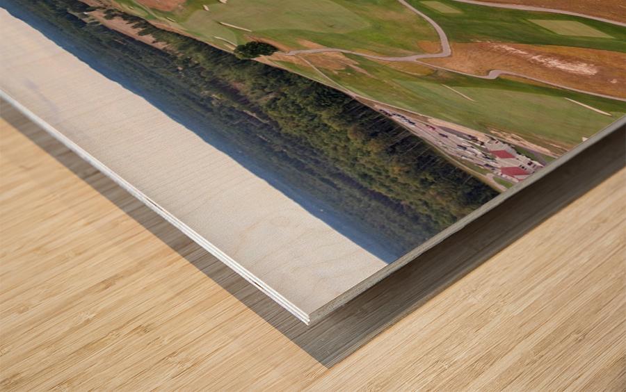 Arcadia Bluffs South Course back nine Par 5s Wood print