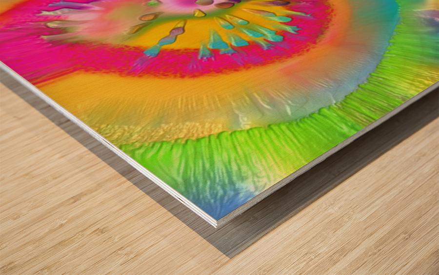 105 Wood print