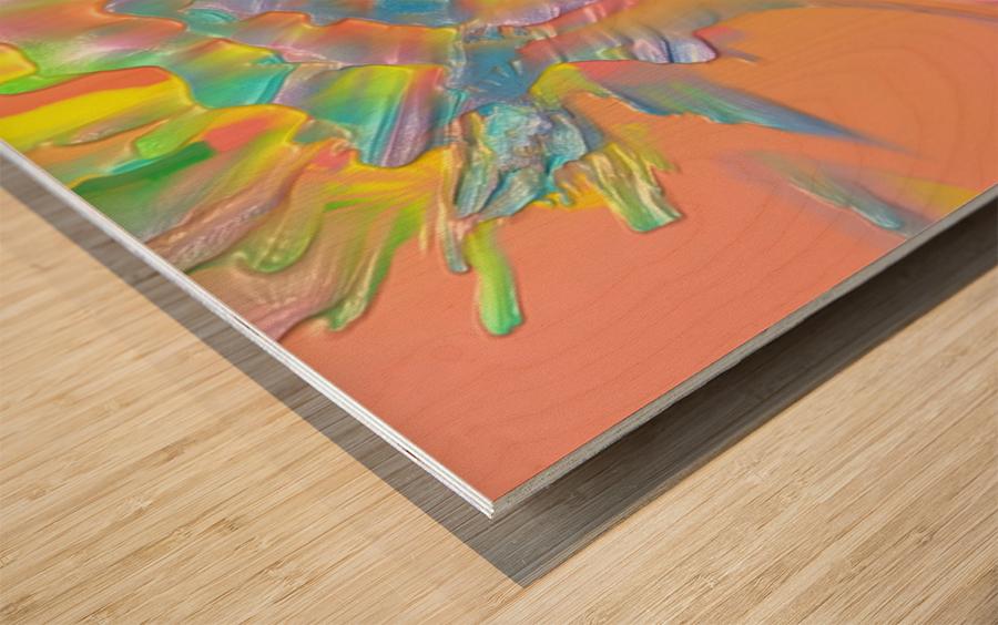 43 Wood print