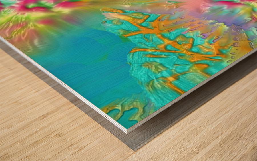 154 Wood print