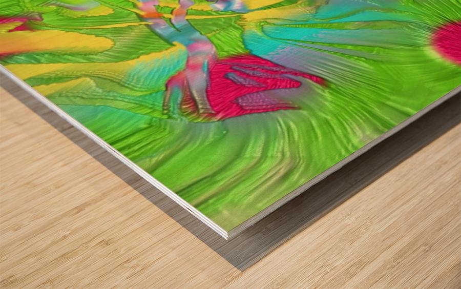 141 Wood print