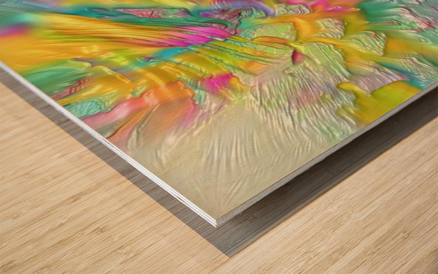 215 Wood print