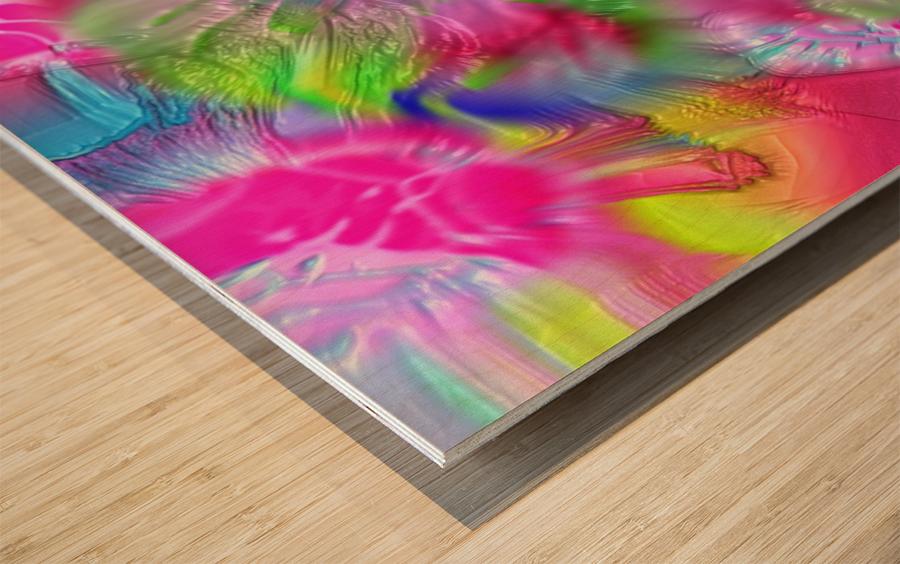 190 Wood print