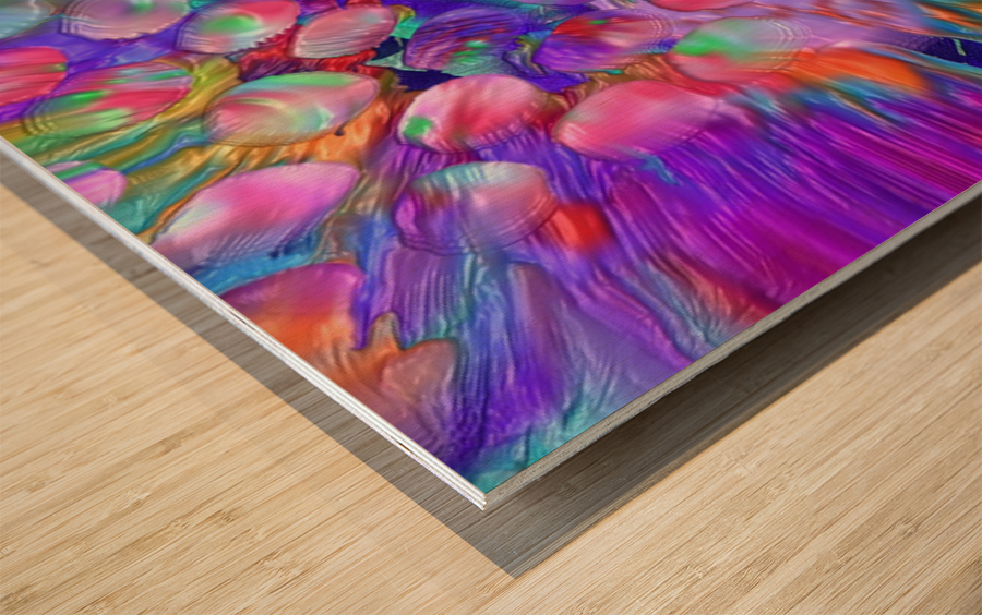 195 Wood print