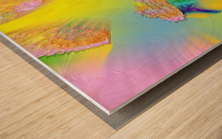 835 Wood print