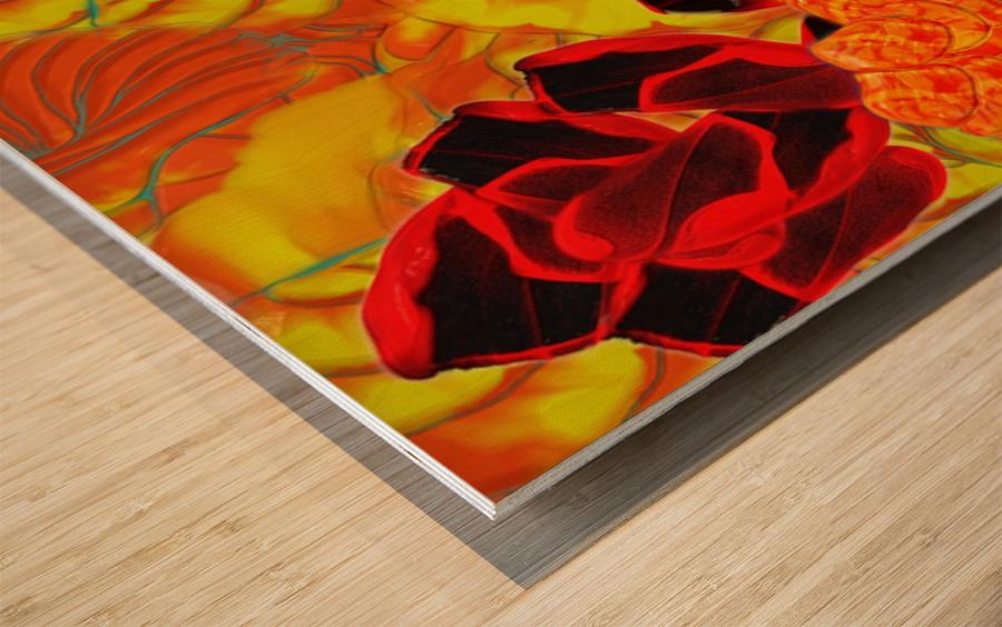 838 Wood print