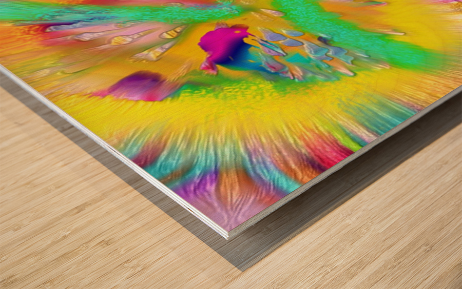Ref: 855 Wood print