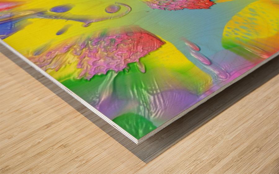 889 Wood print