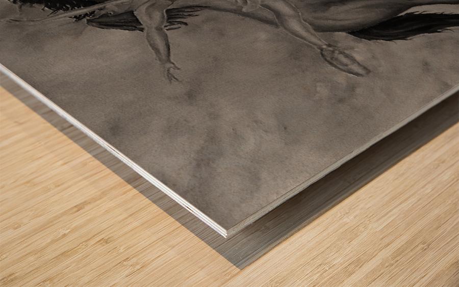 Moment Of Elation Wood print