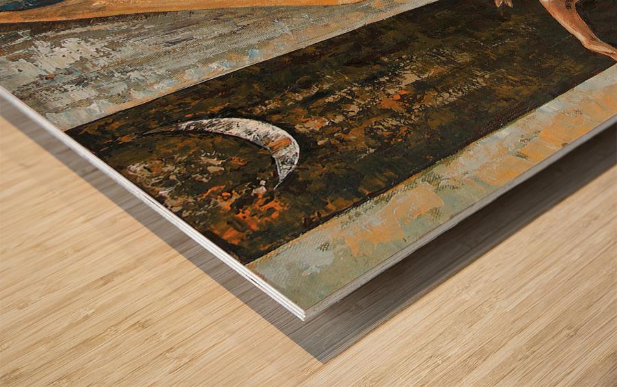 THE DANCE ITS MY FUN 18x18 Wood print