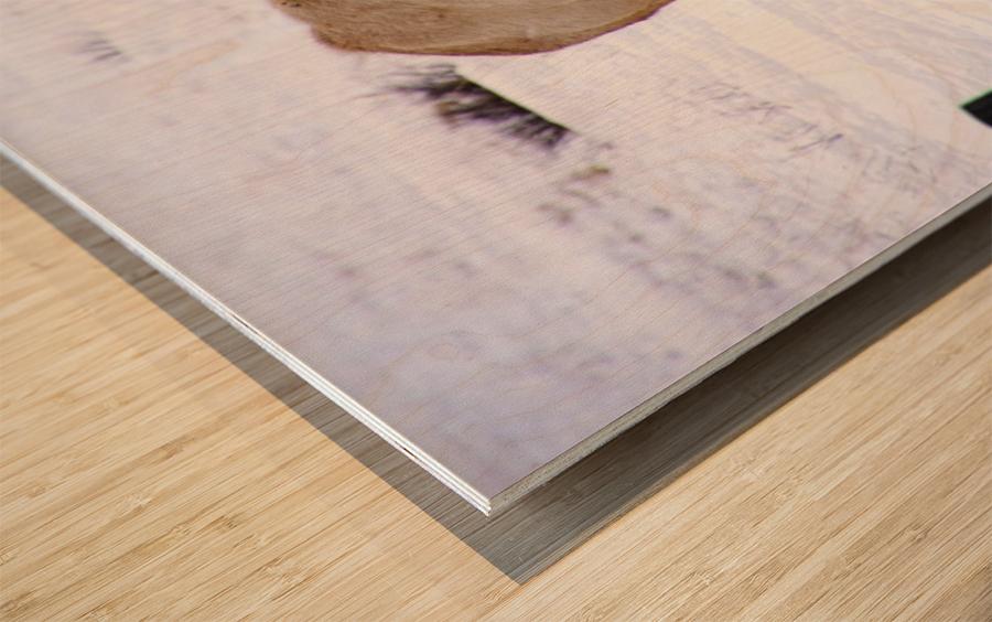 Wheres The Grass Wood print