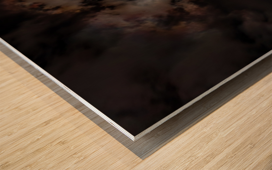 2017 Eclispe Wood print