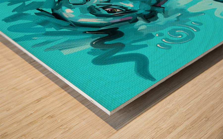 SIGN Wood print