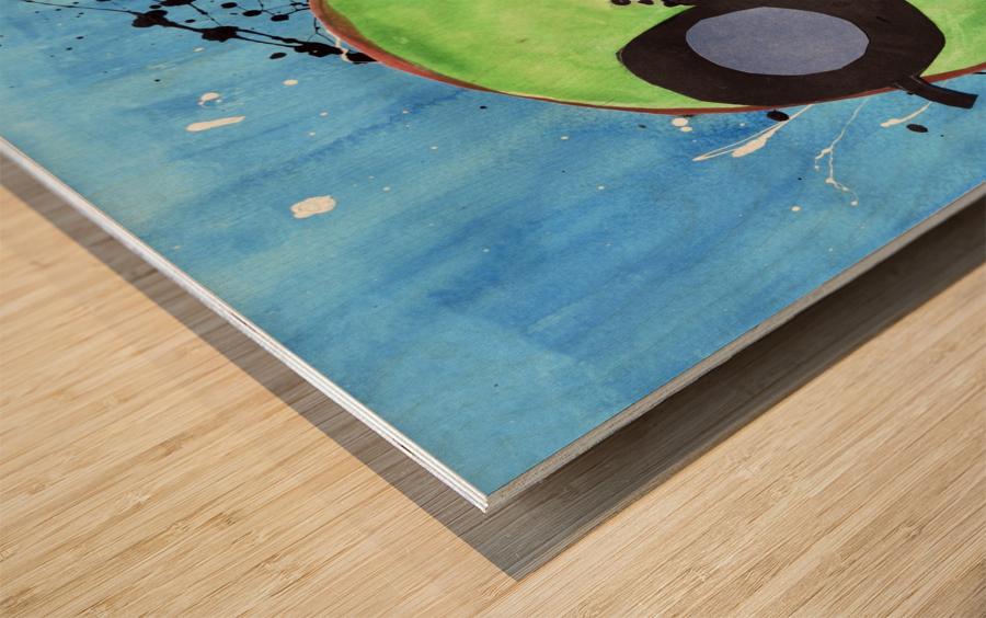 Kiwi Man. Michael D Wood print
